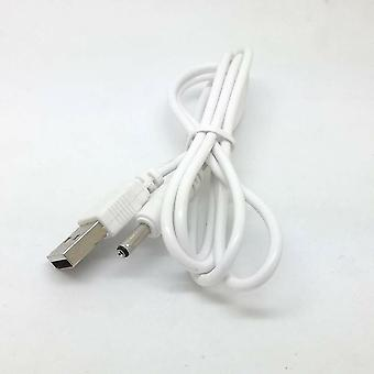 lader strømkabel bly for fat jack 5v 2a - hvit