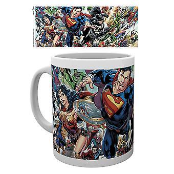 DC Universe Renascimento DC Comics Liga da Justiça Caneca