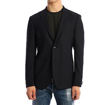 Tonello 06g322y3100q600 Men's Blue Wool Blazer