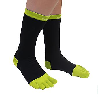 TOETOE Essential Fashion Men Cotton Toe Socks