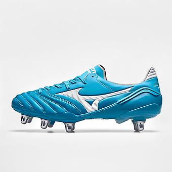 Mizuno Boys Morelia RgBoot Firm Ground Football Boots Sports Training Shoes