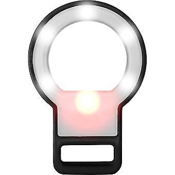 Bullet Mirror LED Selfie Flashlight