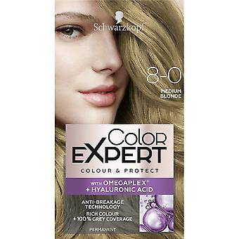 Schwarzkopf Color Expert Hair Colour - Medium Blonde 8.0