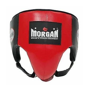 Morgan Platinum Leather Abdo Guard Xl