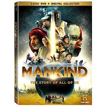 Menschheit: Die Geschichte von uns alle [DVD] USA import