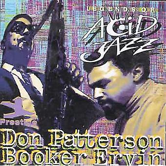Patterson/Ervin - Legends of Acid Jazz [CD] USA import