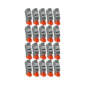 """روديتوس 20 x الاستبدال لكانون BCI-24BK """"الحبر وحدة أسود متوافق"""" مع Pixma iP1000، iP1500، iP2000، MP110، MP130، SmartBase، المتعددة الدخول، Jet الفقاعة، ImageClass، MP200 بيزوس، MP360، MP360S، MP370،"""