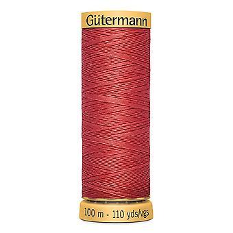 Gutermann 100% Natural Cotton Thread 100m Hand and Machine Colour Code  - 2255