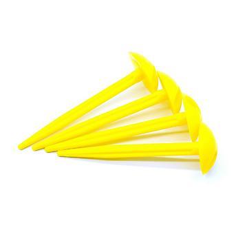 Hi-Gear Groundsheet Pegs Yellow