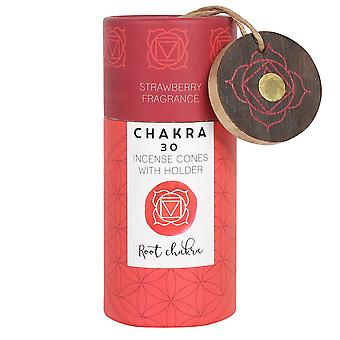 Something Different Root Chakra Incense Cones (Pack of 30)