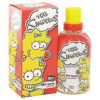 Simpsons Eau De Toilette Spray af luft Val internationale 3,4 oz Eau De Toilette Spray