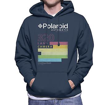 Polaroid automatische 320 bunte Streifen Männer's Kapuzen Sweatshirt