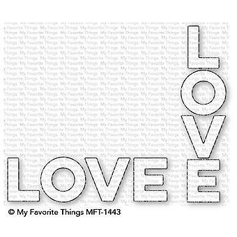 Meine Lieblings-Dinge Verdoppeln Sie die Liebe Die-Namics