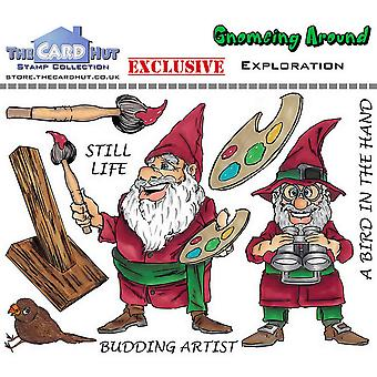 The Card Hut Exploration Clear Stamps