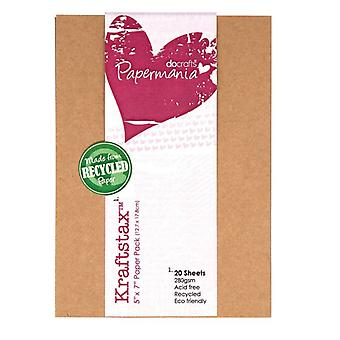 Papermania 5x7 Inch Kraftstax (20pk) (PMA 160601)