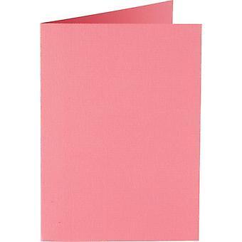 Papicolor 6X Doble Tarjeta A6 105x148 mm Rosa