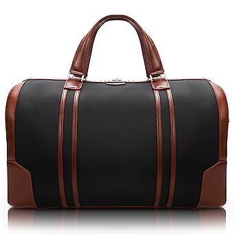 "78195, U Series, Kinzie 20"" Nylon, Two-Tone, Tablet Carry-All Duffel - Black"