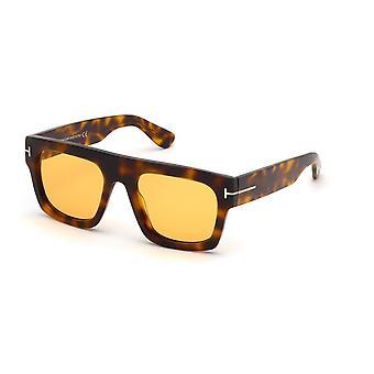 Tom Ford Fausto TF711 56E Havana/Brown Sunglasses