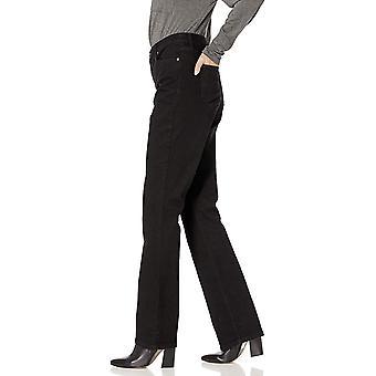 Bandolino Women's Mandie Boot Cut Jean, Saturated Black, 6