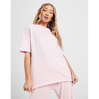 New JUICY COUTURE Women's Boyfriend Logo T-Shirt Pink