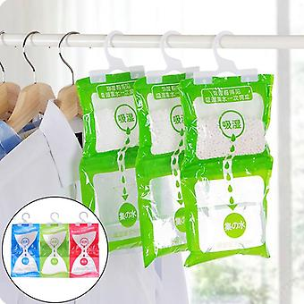Wardrobe Hanging Moisture Bag Closet, Cabinet Dehumidifier Drying Agent -