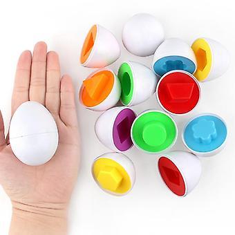 Pariliitetty kierretty muna tunnistaa värin ja muodon lisää älykkyys rakenne