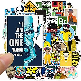 Breaking Bad Waterproof Pvc Stickers For Skateboard, Guitar, Suitcase And