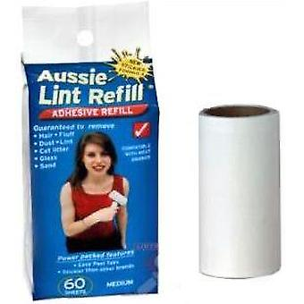 Aussie Lint Roller médio refil