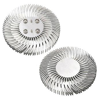 Round Led -heatsink Radiator Aluminum, 10w Heat Sink Radiator For Household