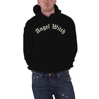 Angel Witch Hoodie Band Logo nouveau Pull officiel homme noir