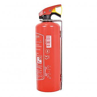 Feuerlöscher ABC mit Befestigungswinkel 1kg rot