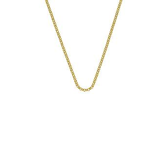 """Emozioni 24"""" Gold Plated Sterling Silver Belcher Chain CH053 Emozioni 24 """" Gold Plated Sterling Silver Belcher Chain CH053"""