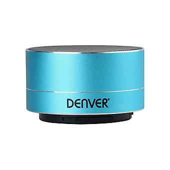 Denver Electronics BTS-32 Blue 3W portable bluetooth speakers