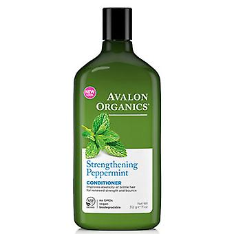 Avalon Organics Stärkung Conditioner, Pfefferminze, 11 Oz