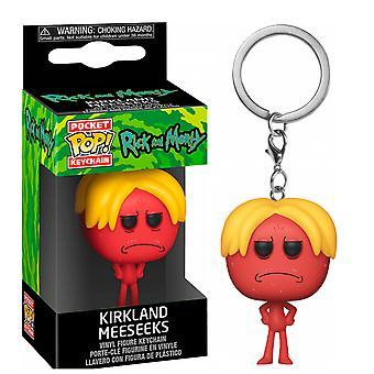 Rick and Morty Kirkland Meeseeks Pocket Pop! Keychain