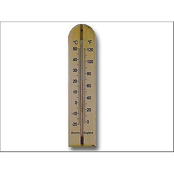 Brannan Thermometer Wall Wood 200mm 14/432