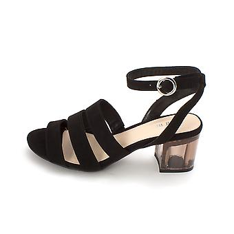 Bar III Womens Rae Fabric Open Toe Ankle Strap D-orsay Pumps