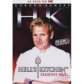 Hell's Kitchen 4 & 5 [DVD] USA import