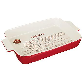 Premier Housewares Shepherds Pie Dish Stoneware Red 0104531
