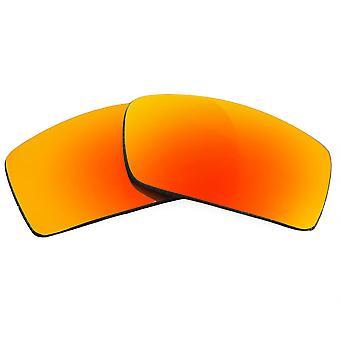 عدسات استبدال لنظارات أوكلي Gascan النظارات الشمسية المضادة للخدش مرآة حمراء
