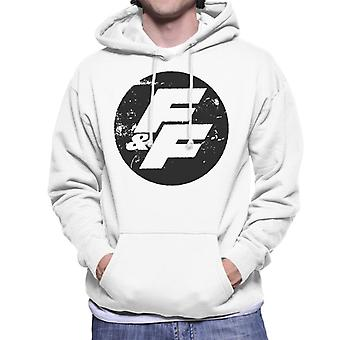 Fast and Furious FF Vintage Logo Men-apos;s Sweatshirt à capuchon