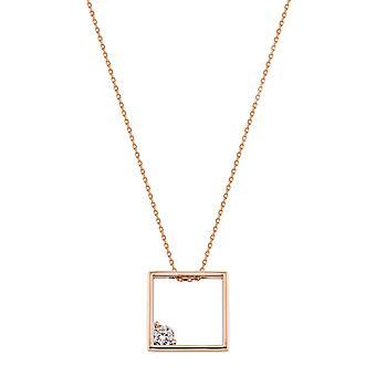 Square Guld halskæde