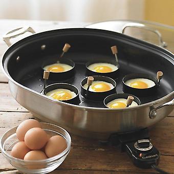 De ringen van de Bak van het ei