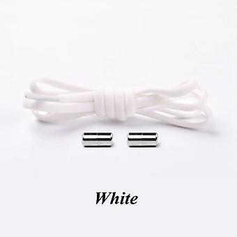 مرونة قفل الأحذية أربطة أحذية رياضية شبه دائرة سريعة لا ربطة عنق الاطفال الكبار الألوان