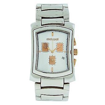 Roberto Cavalli Men's R7253900015 RC Tomahawk ruostumattomasta teräksestä valmistettu kello