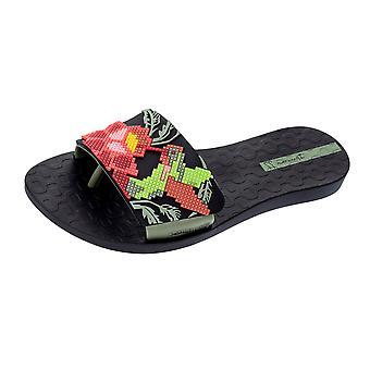Plage de Livia Womens Ipanema Flip Flops sandales - noir