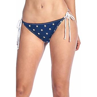Usa Flag Tie Side Bikini Bottoms
