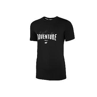 4F TSMF060 H4L20TSMF06020S universal ympäri vuoden miesten t-paita