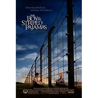 The Boy in the Striped Pajamas Movie Poster (11 x 17)