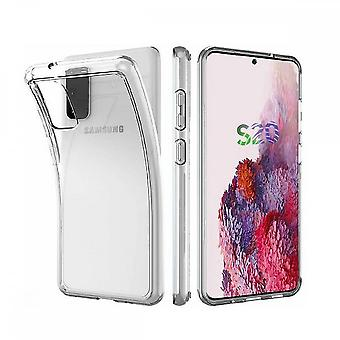 Coque Pour Samsung Galaxy S20, Housse De Protection En Silicone De Haute Qualité, Transparent